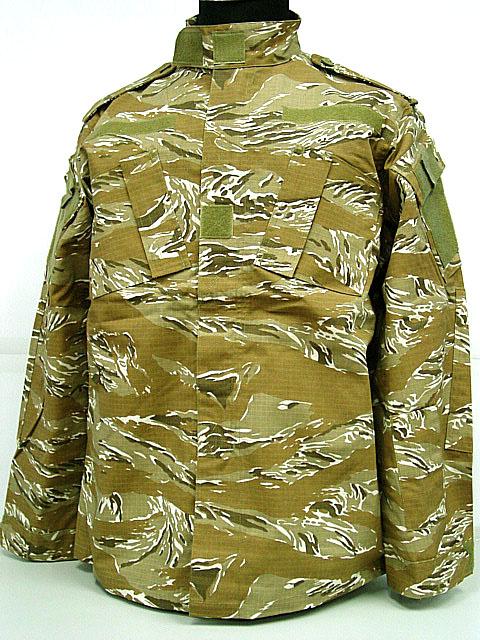 US Army Desert Tiger Stripe Camo BDU Military Uniform Set